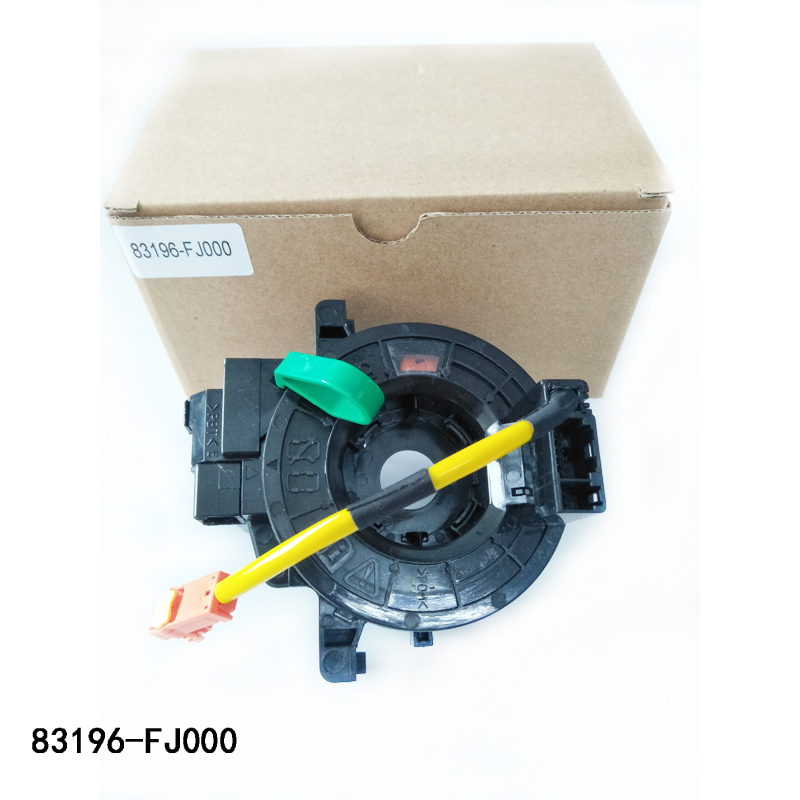 auto parts steering wheel Airbag Spiral Cable 83196-FJ000 electric switch assy-clock spring