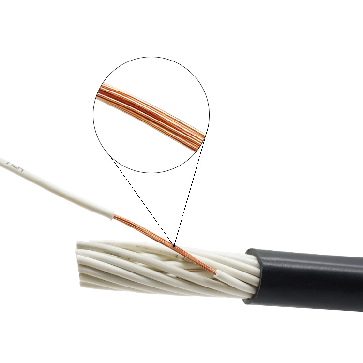 <strong>H05VV</strong>-<strong>F</strong>/RVV 2*1.5mm Copper Conductor Wire RVV Electric Wire <strong>Cable</strong> For Household