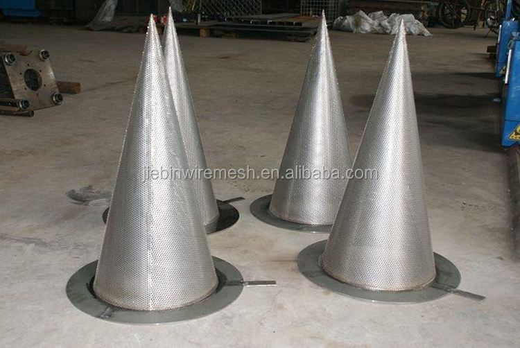 #SUPERSEPTEMBER High quality Stainless steel perforated metal mesh conical filters