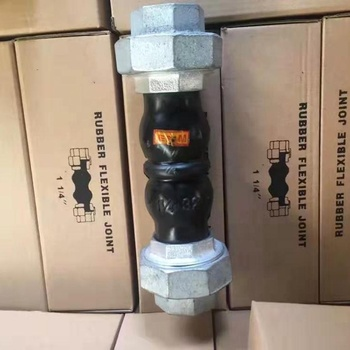 Union Type Threaded Flexible Rubber Joint