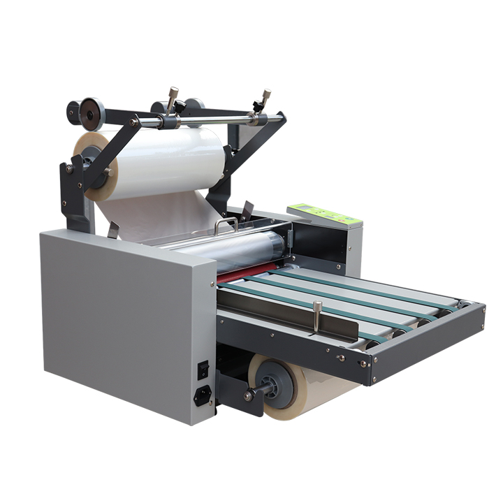 SIGO SG-L388 Hot and Cold A3+ Roll auto feeding <strong>paper</strong> with belt laminating machine
