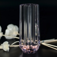 multipurpose small Crystal vase, incense burner for wedding gift and home decoration