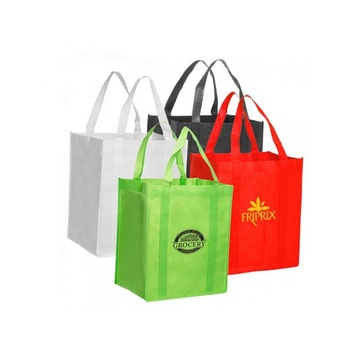 Wholesale Cheap Eco-Friendly Heavy Duty Oem Custom Tote Reusable Nonwoven Shopping Grocery Bag Reusable
