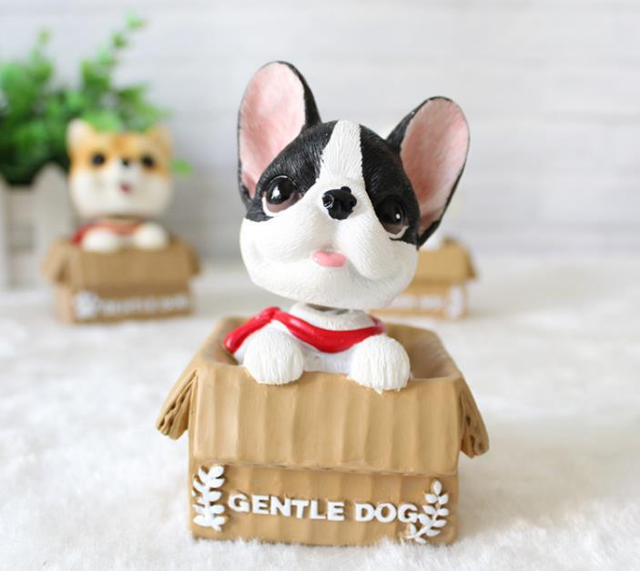 funny  gift bobblehead resin custom bobble head dogs