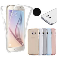 For Samsung Series Body Full Coverage <strong>Case</strong> 360 Degrees Clear TPU Silicon Soft Cover for Samsung Galaxy A10 A20 A30 A50