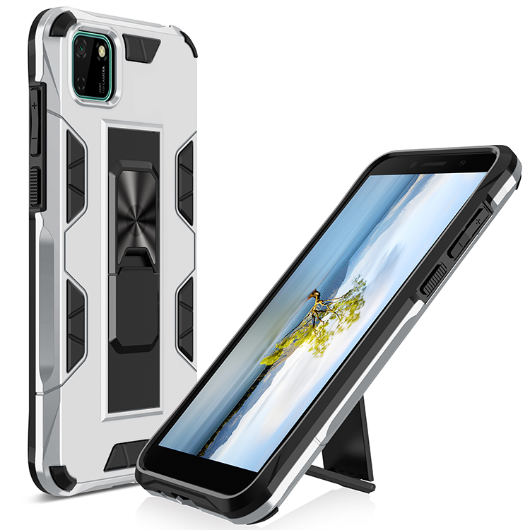 Kickstand Shockproof Hybrid TPU PC Defender Case Back Cover for Huawei <strong>P</strong> Smart Z / Y9 prime 2019 <strong>P</strong> Smart 2019