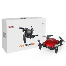 Q2 Mini Foldable Pocket Drone 4-Axis 2.4Ghz 0.3MP RC Drone Camera Wifi Headless Mode Altitude Hold Drone 3D Flip RC Quadcopter