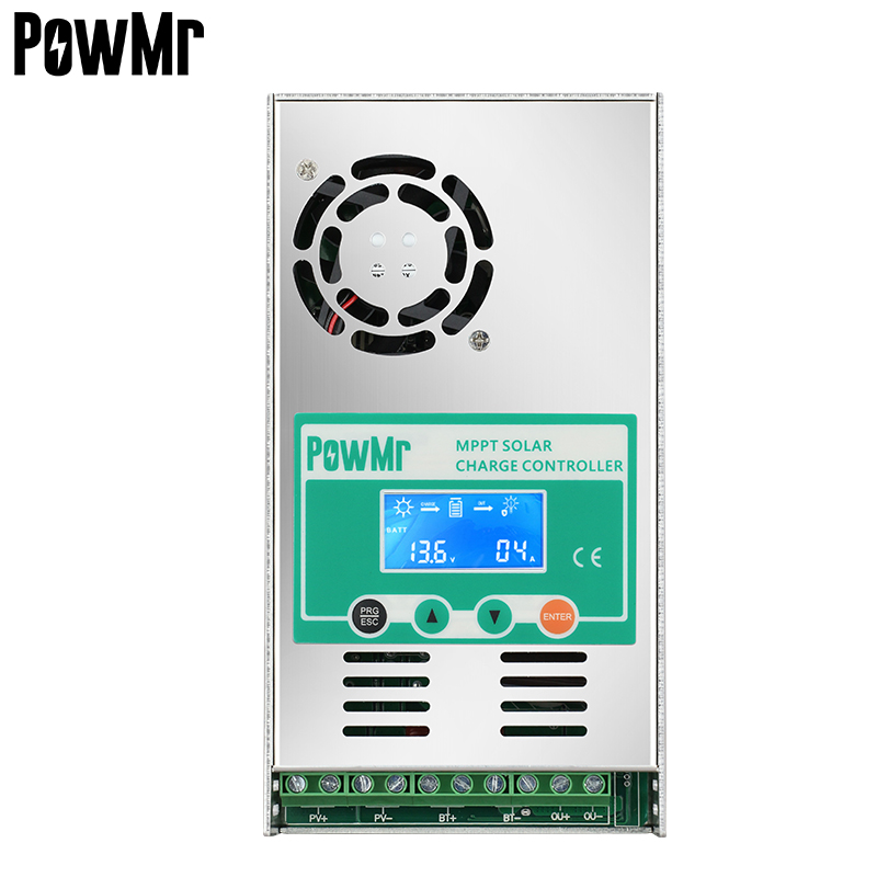 PowMr Factory Directly MPPT 60A Solar Controller 12V/24V/36V/48V Auto With Max PV Input 160V for Solar System Free shipping
