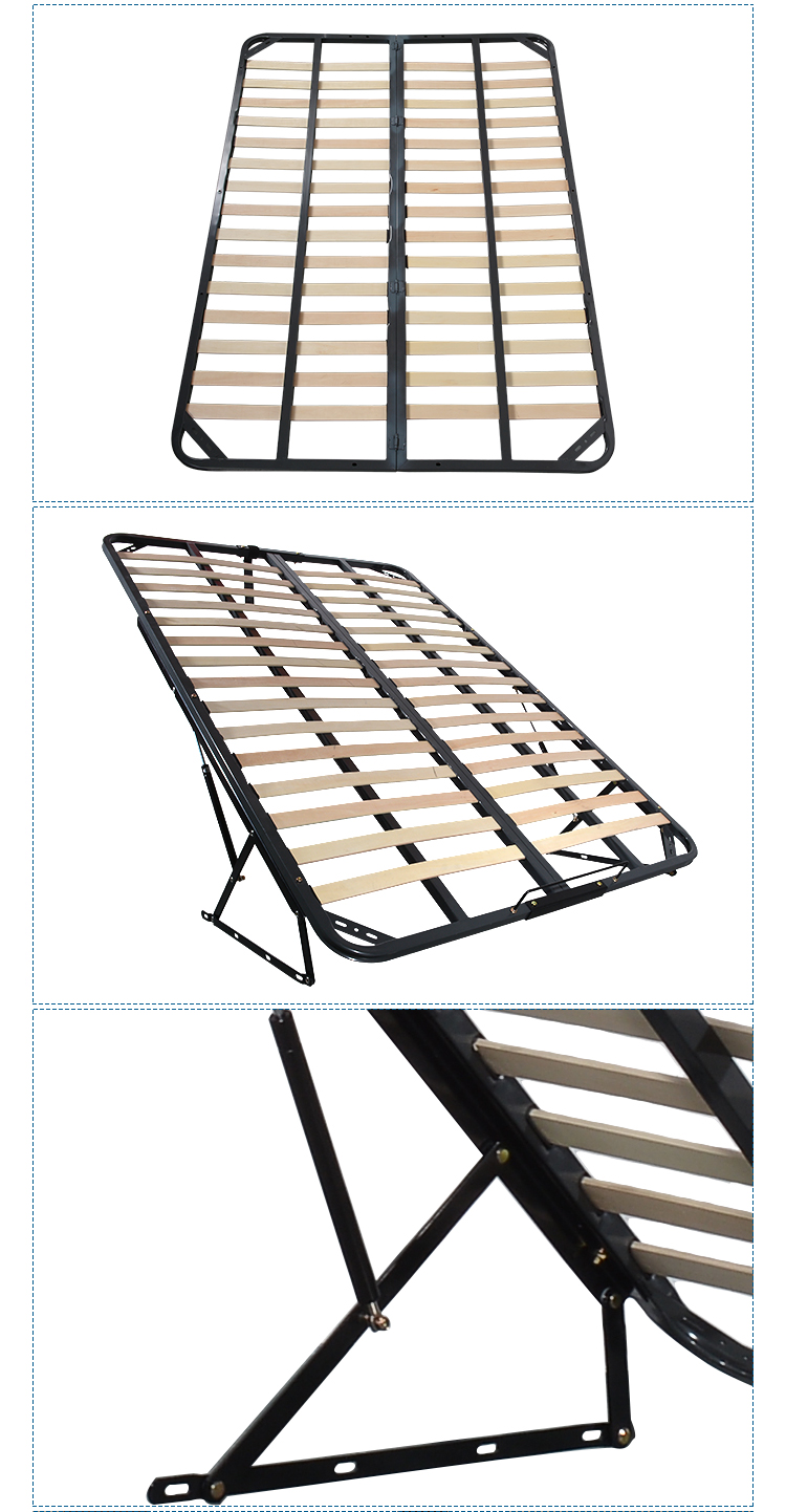 VT-14.010 2019 Cheap price single folding bed/metal bed frame/steel foldable bed