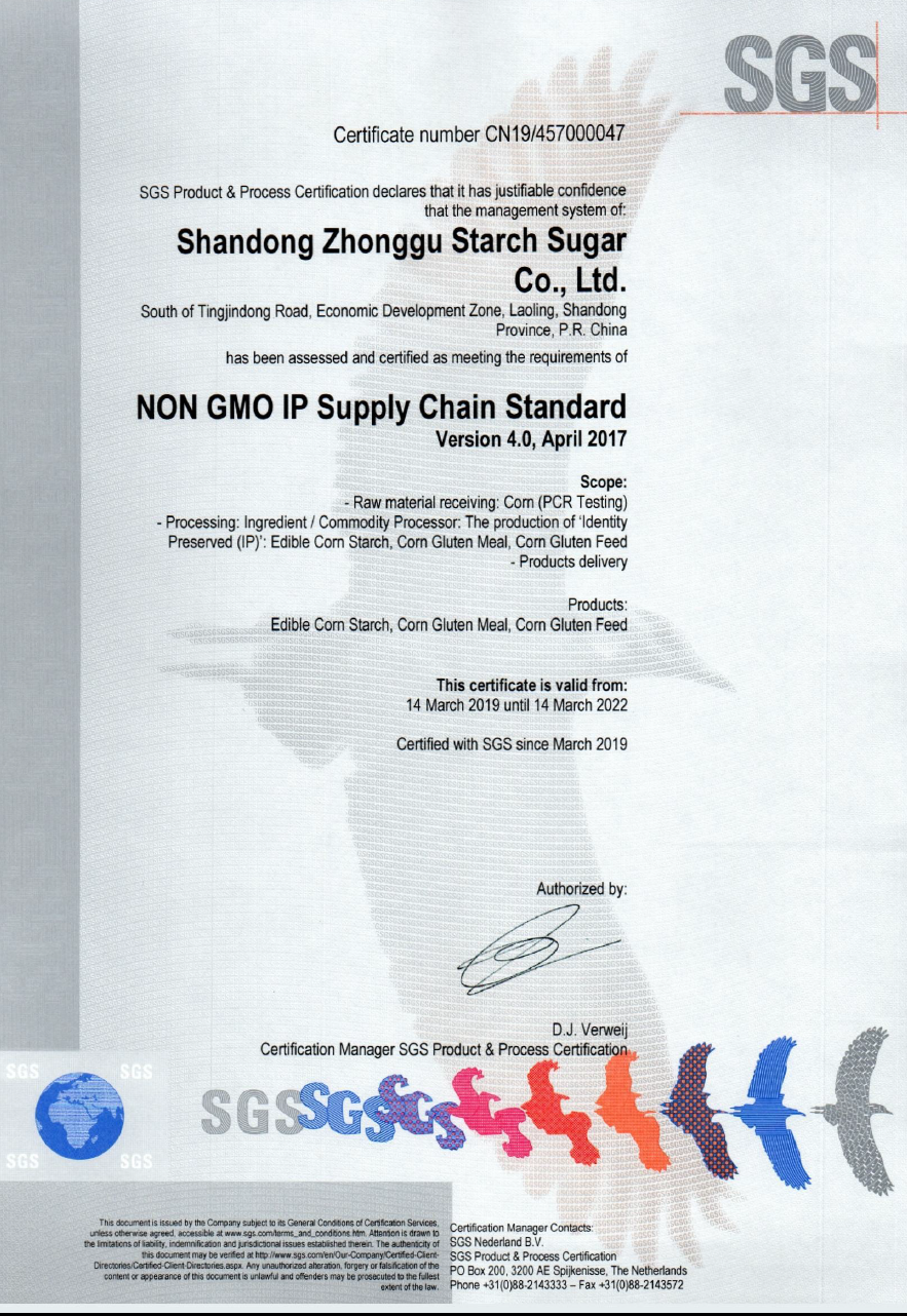 China NON GMO Corn Starch Food Grade