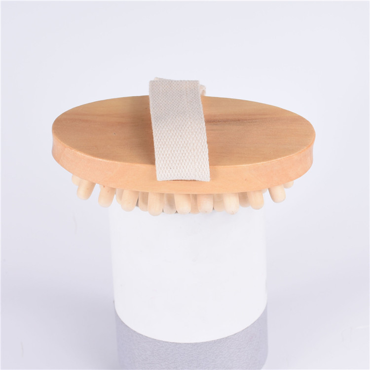 Hot saling 100% natural wooden Handmade Wooden Body Care Massager bath back massage tool