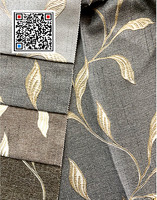 100% POLYESTER LUXURY JACQUARD CURTAIN FABRIC YARN DYED FOR HOME USE SELL TO Russia Market