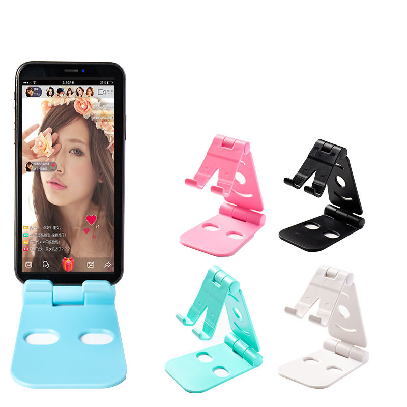 Manufacturer promotion plastic rotating foldable kickstand phone holder for cellphone