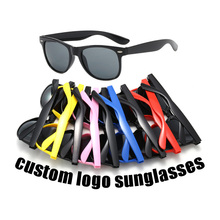 Superhot Eyewear Cheap <strong>Plastic</strong> Square Promotional Custom Logo <strong>Sunglasses</strong>