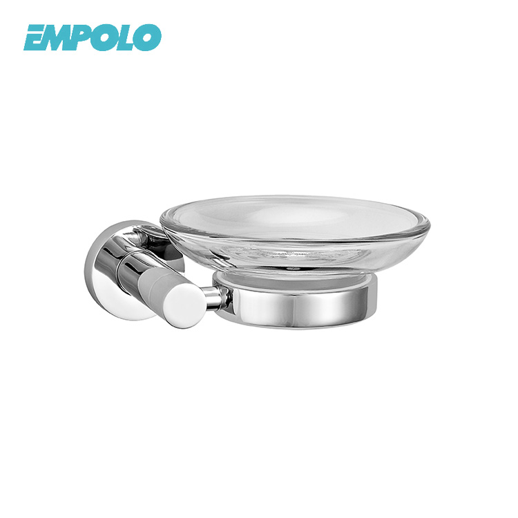 Wholesale Cheap Wall Mounted Chrome Metal Holder Bathroom Soap Dish Holder
