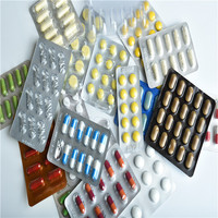 Printed Blister Pack Material Pharma Package Use Aluminum Foil