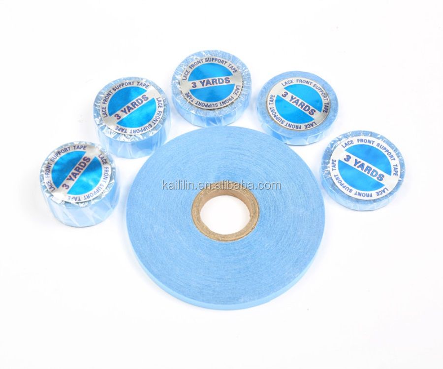 Wholesale double side tape Waterproof Adhesive tape human hair wigs/toupee/extension tape