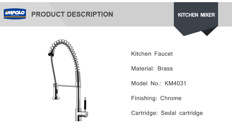 Contemporary Exterior Paneling Kitchen Accessories Tools Silicone Kitchen Faucet Spring Coil Basin Mix Faucet