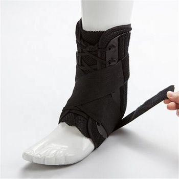 Breathable Lace Up Ankle Stabilizer Brace Support Guard Protector Sports Safety Foot Strain Stirrup