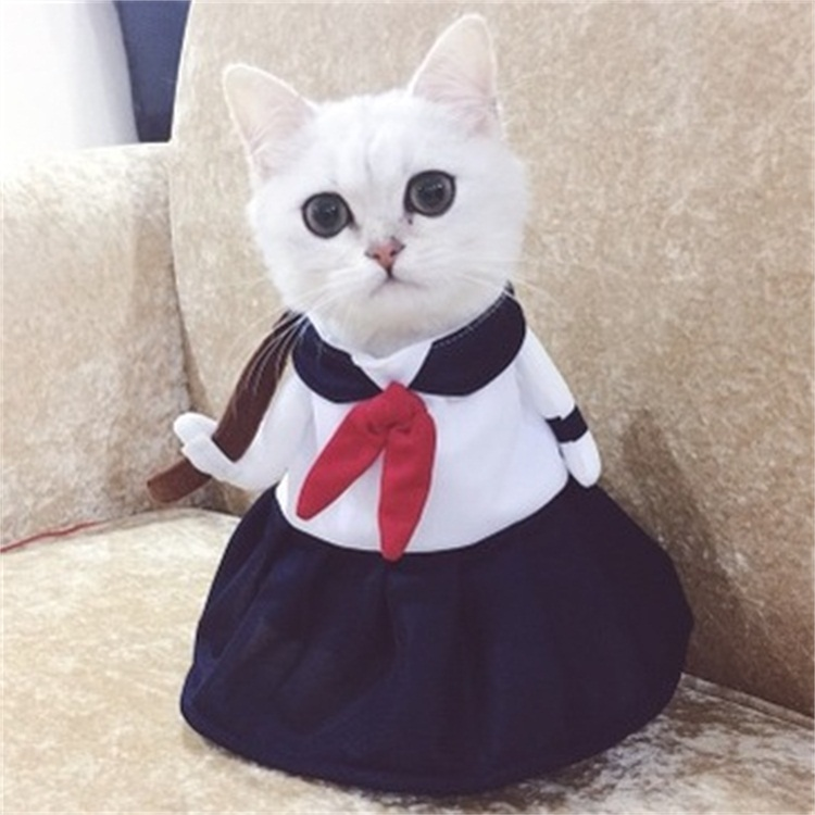 Transforming Cat Dog Kintaro Upright Suit For Pets Pudao Peach Clothes
