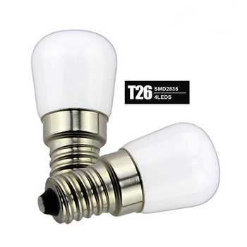 Ceramic ST26 E14 led refrigerator Light Bulb T26 1W 2W 3W LED Fridge icebox bulb freezer bulb lamp No flicker free non Strobe