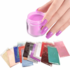 100 Colors Bulk Nail Powder Glitter Pigment Loose Neon Dipping Powder Nails System Color Dip Powder Nails