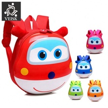 New Super Wings Cute Kid School Bags Cartoon Character 3D Style Children <strong>Backpacks</strong> Kindergarten Girls Boys Baby <strong>Backpack</strong>