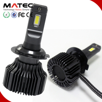 Newest car lighting system replace halogen,HID xenon led headlight 12 for all cars canbus,fanless h7 9005 led auto h4 12v 100w