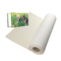 360gsm Wide Format Polyester Cotton Inkjet Art Canvas Fabric Material
