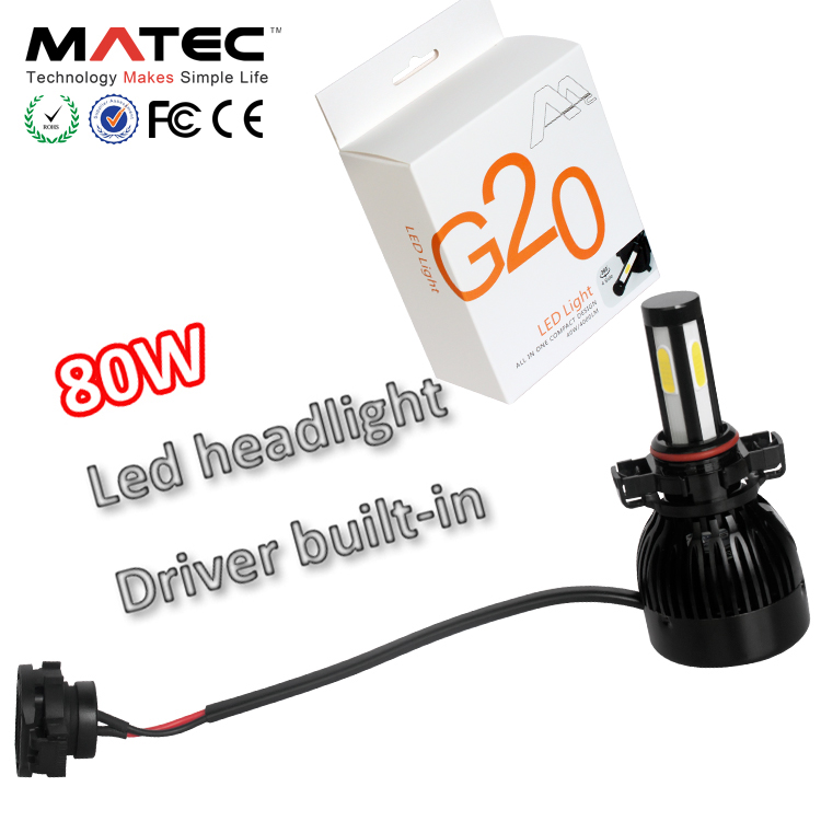 Upgraded version double light high power G20 LED headlight <strong>bulb</strong> H4 with excellent lighting pattern c6 headlights for car