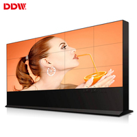 Factory price 46 49 55 65 inch 4k high bright display 2x2 ultra narrow bezel touch screen lcd video wall multi screen panel tv