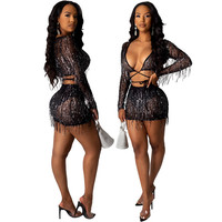2020 Hot sleeveless outfits two piece set summer women clothing
