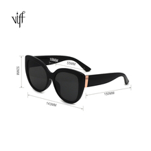Extra-fine HP19867 <strong>Plastic</strong> Frame Cateye Luxury Women <strong>Sunglasses</strong>