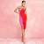 High Quality Women Night Clubwear Evening Party Bodycon Rayon Bandage Dress