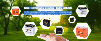 High capacity storage dry charged starting battery electric battery two wheeler12v6ah