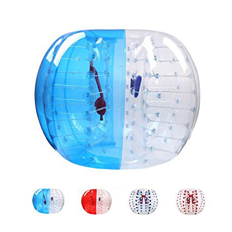 hot sale body zorbing air track pump bubble bumper ball with great price