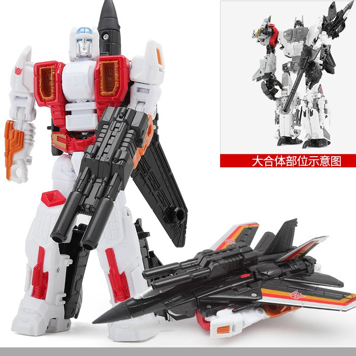 HaiZhiXing <strong>C101</strong> juguetes plane toy cartoon figure model super change Manual deformation robot movie figure