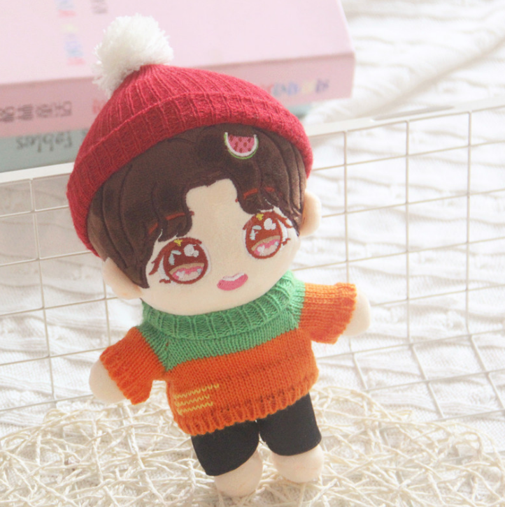 Custom Korean Plush Toy Star <strong>Doll</strong> Stuffed Toy Kpop Plush <strong>Doll</strong> With Low MOQ