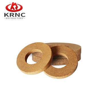 Manufacturer of Refractory wood burning stove bricks fire retardant bricks round fire brick