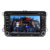 2Din 7 Inch Android 10.0 Car DVD Player For VW Golf Polo Beetle With Bluetooth GPS Support FM/AM RDS Mirror Link Cam-In SWC USB
