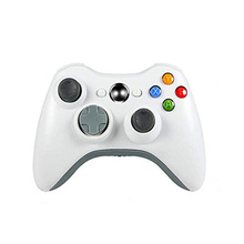 Wireless Controller for Xbox 360, 2.4GHZ Gamepad Joystick Controller <strong>Remote</strong> for Xbox 360 Console &amp; PC Windows 7,8,<strong>10</strong> (White)