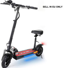 SELL IN EU ONLY free duty shipping 48V 500W Brushless Motor 3 Speed Mode Max Speed 43KM/H Electric Offroad E Scooters with Seat