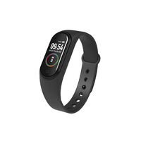 2019 Newest Hot Selling M4 Fitness Tracker Blood Pressure Health Sport Smart Bracelet smart band
