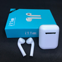I11 Tws Wireless Earphone Touch Earbuds Bluetooth 5.0 Headset I11 Touch Tws Sport With Charging With Mic For All Smart Phone