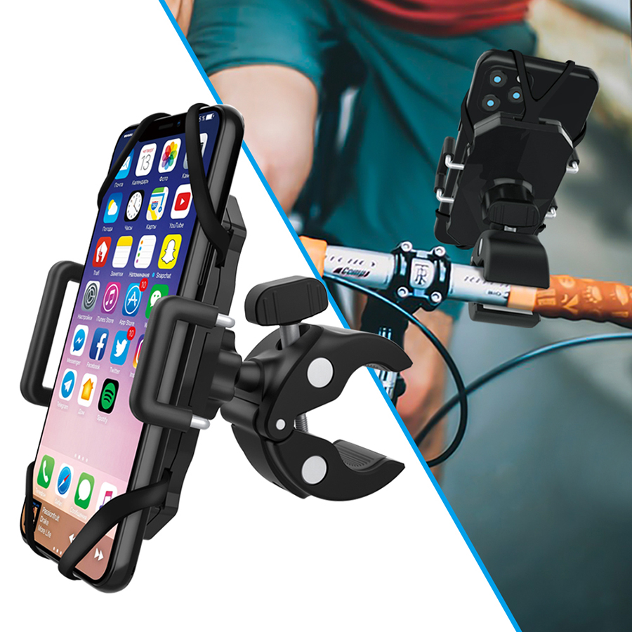 Bike <strong>Phone</strong> Mount Full Screen Touch 360 Rotation Anti Shake <strong>Phone</strong> Mount Holder Compatible with Iphone Samsung