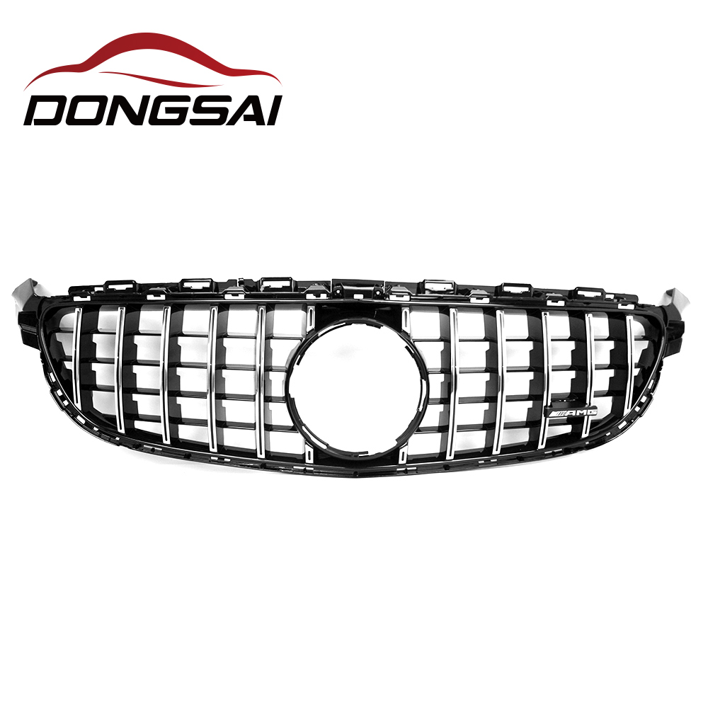 Silver New grille <strong>C</strong>-Class fit for merced benz <strong>c</strong> front grill w205