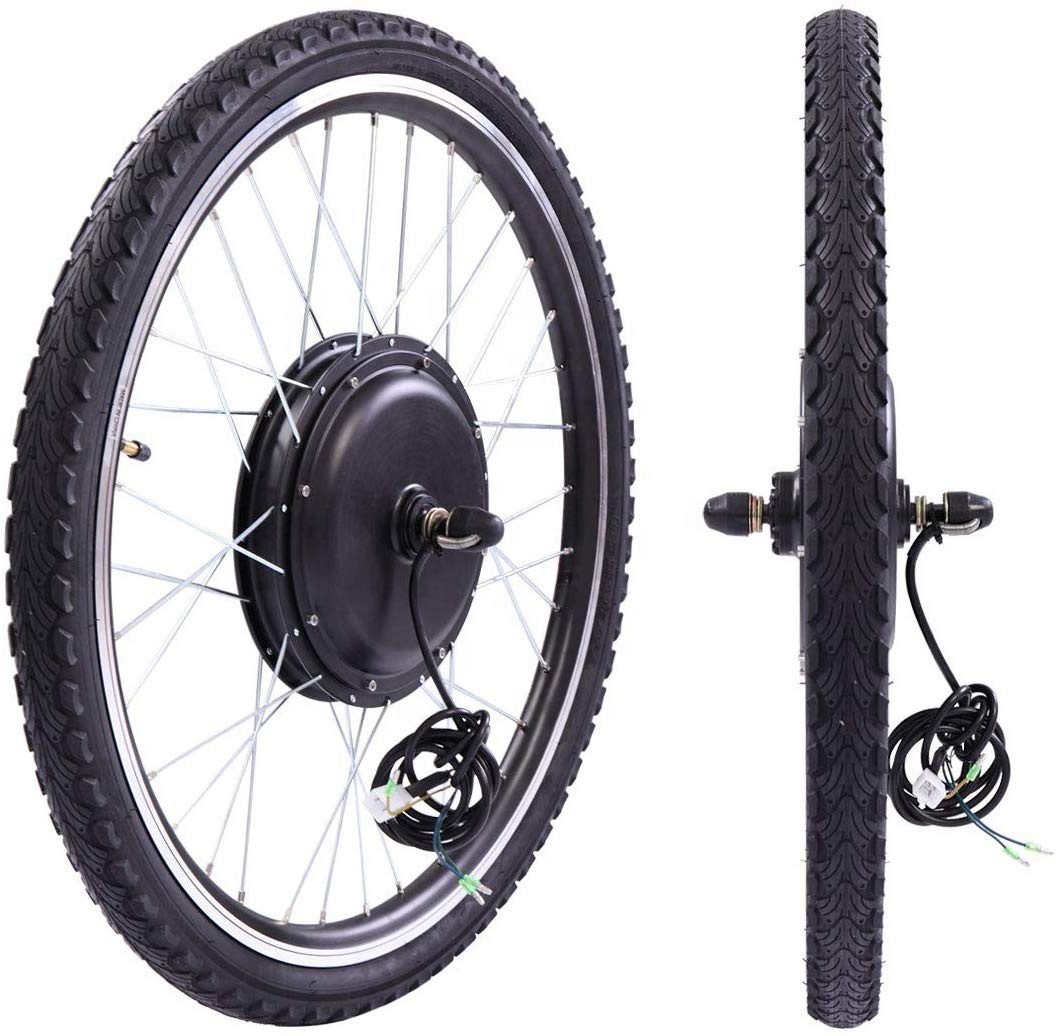 Latest 48V 1000W Front Wheel Ebike Conversion Kit with Sine Wave Controller