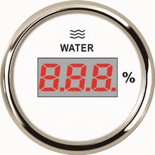 52mm Digital Water Level <strong>Meter</strong> 0-190ohm Water Level Gauge 12V/24V Automobile Water Level <strong>Meter</strong> With Backlight