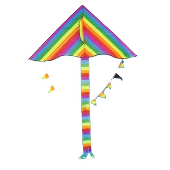 High Quality 2020 New Products Amazon Easy Hand Flying Large Rainbow Delta Kite