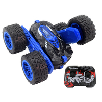 HappySun new 4wd 4 rounds double side dual sided roll remote control rc 360 rolling stunt car